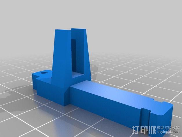 Printrbot Simple打印机的张紧器 3D模型  图3
