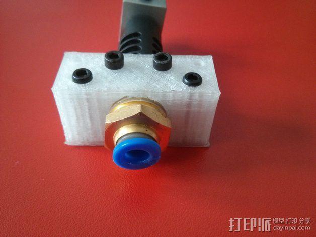 J-Head 式挤出机适配器 3D模型  图6