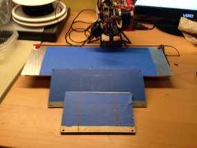 PrintrBot Simple 打印机的构建床 3D模型