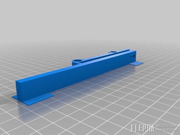 PrintrBot Simple 打印机的构建床 3D模型  图2