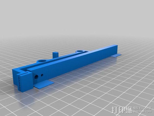 PrintrBot Simple 打印机的构建床 3D模型  图3