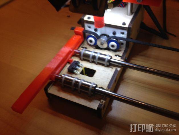 PrintrBot Simple 打印机的构建床 3D模型  图4
