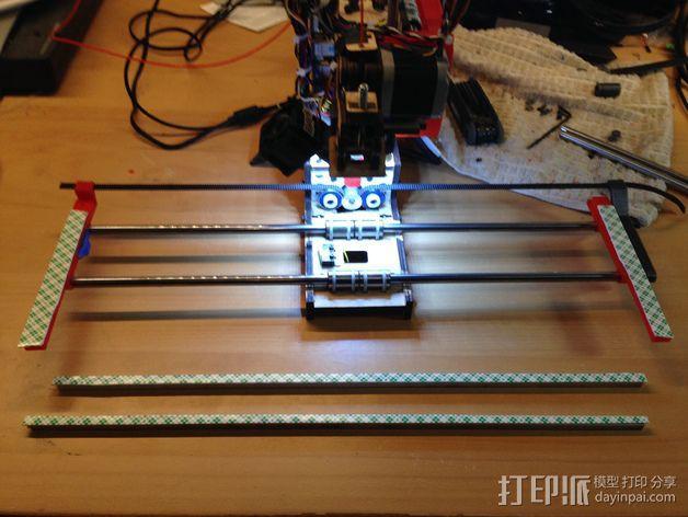 PrintrBot Simple 打印机的构建床 3D模型  图5