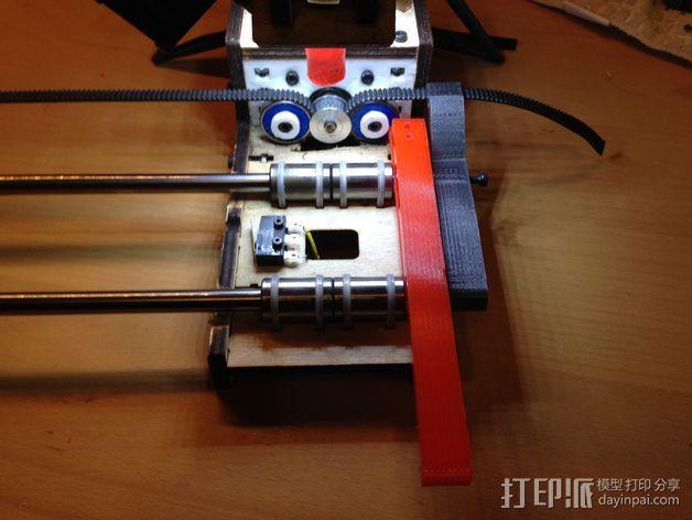 PrintrBot Simple 打印机的构建床 3D模型  图6