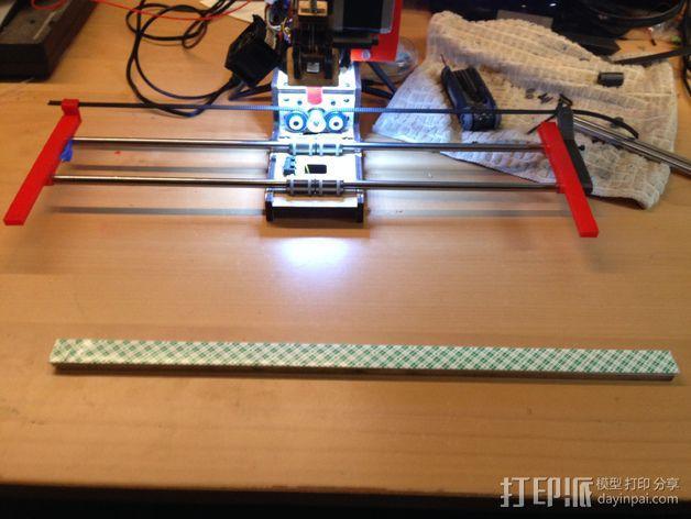 PrintrBot Simple 打印机的构建床 3D模型  图8