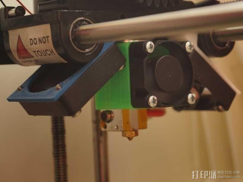 E3D喷头固定架 3D模型  图1