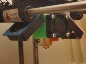 E3D喷头固定架 3D模型