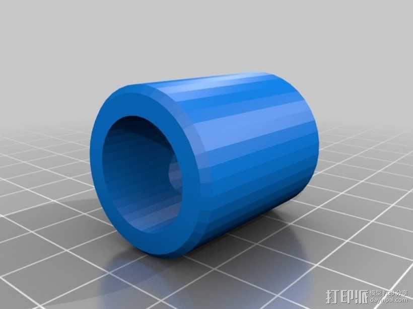 Printrbot Simple打印机的线轴支撑器 3D模型  图6