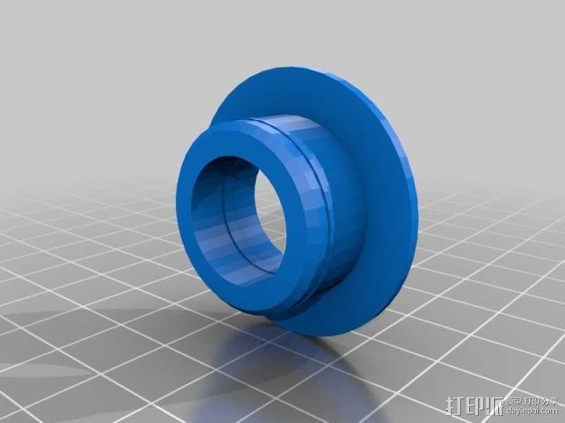 Printrbot Simple打印机的线轴支撑器 3D模型  图7