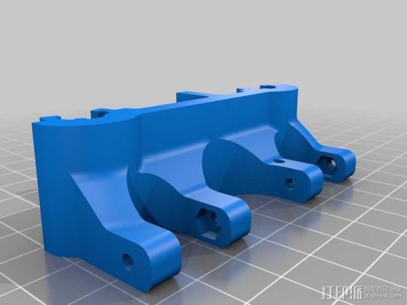 轴承套管 3D模型  图3