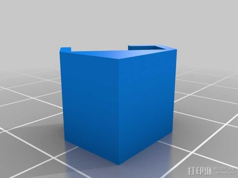 LED灯固定框 3D模型  图2