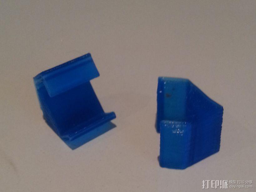 LED灯固定框 3D模型  图3