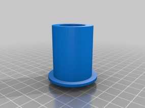 Leapfrog Creatr打印机的线轴架 3D模型