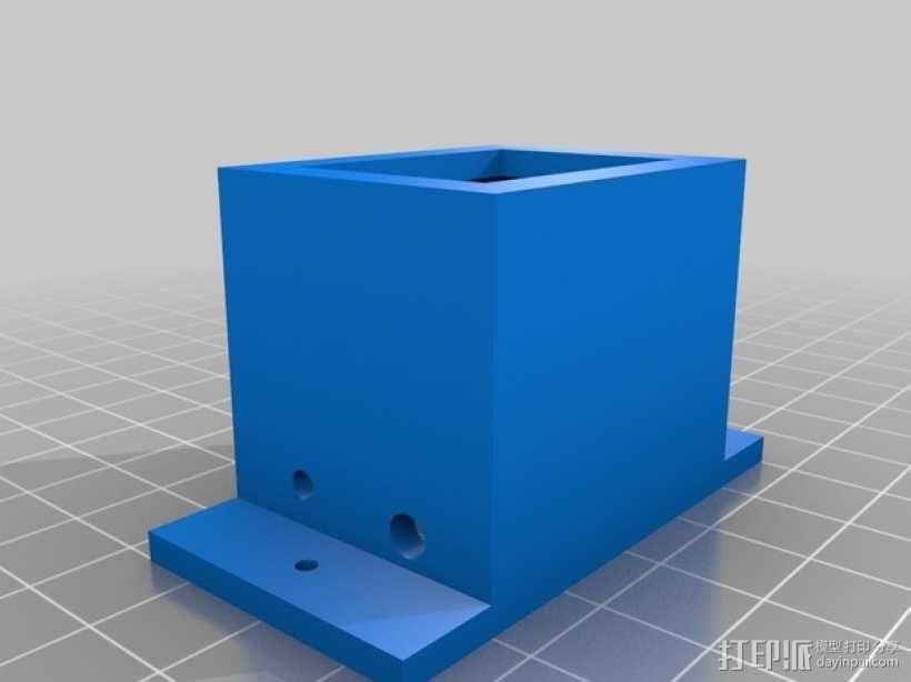 开关架 3D模型  图2