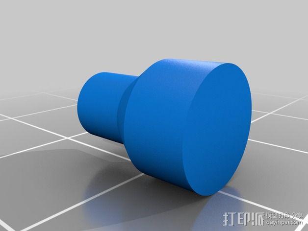限位开关支撑架 3D模型  图8
