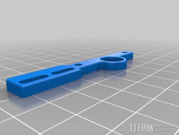 限位开关支撑架 3D模型  图7