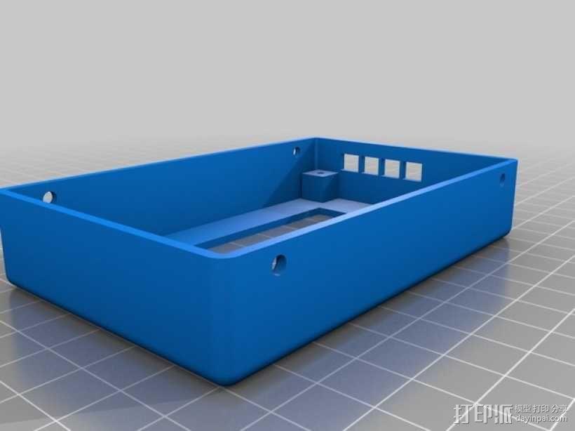LCD液晶显示屏保护框 3D模型  图3