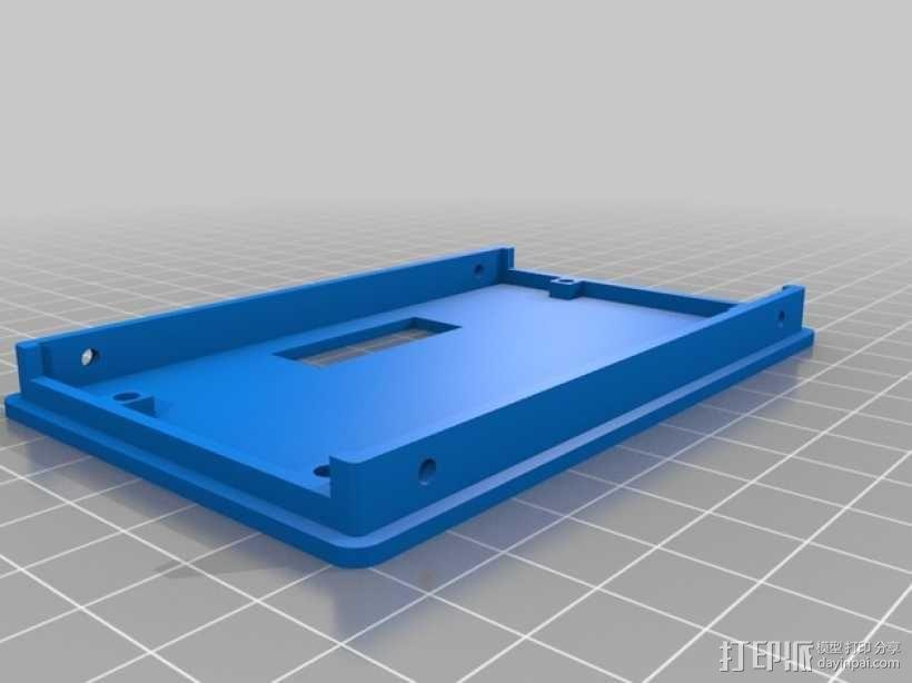 LCD液晶显示屏保护框 3D模型  图2