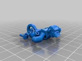 乐高猴子 3D模型