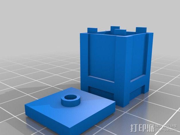 板条箱 3D模型  图1