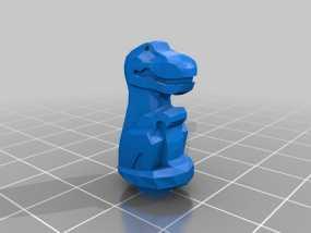 雷克斯暴龙 3D模型