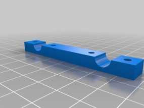 轴杆夹  3D模型