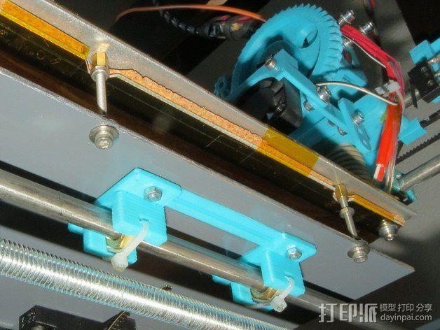 黄铜螺母套管 3D模型  图2