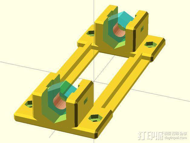 黄铜螺母套管 3D模型  图9