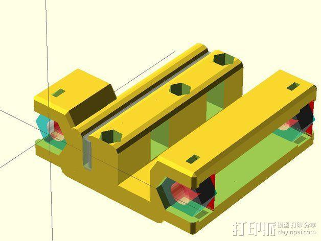 黄铜螺母套管 3D模型  图10