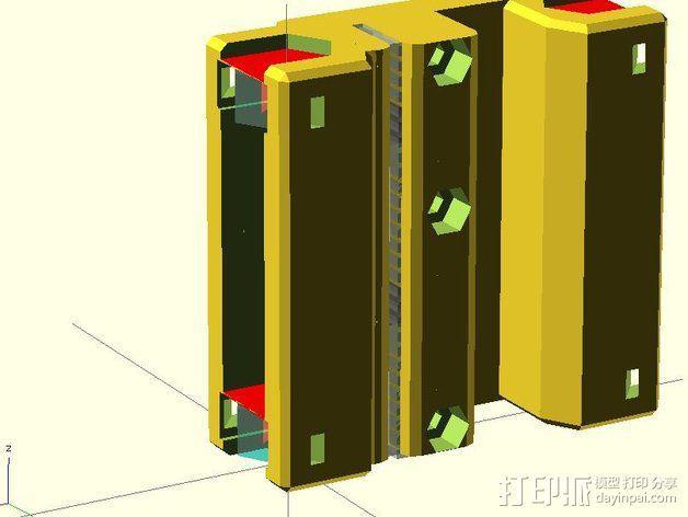 黄铜螺母套管 3D模型  图11