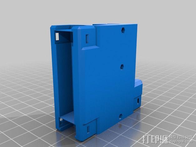 黄铜螺母套管 3D模型  图14