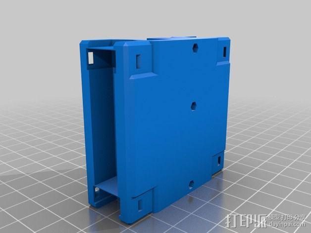 黄铜螺母套管 3D模型  图15