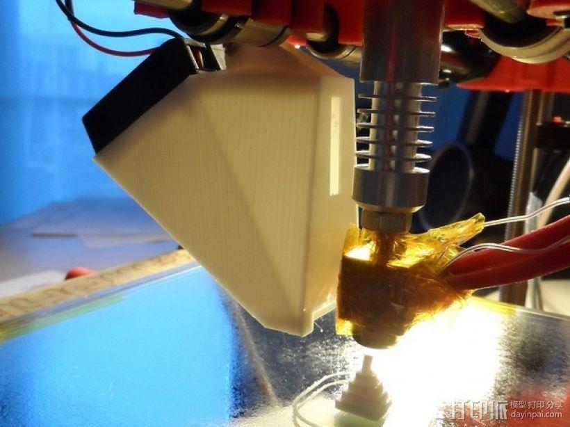 喷头风扇支架 3D模型  图1