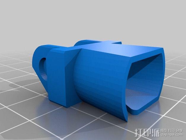 Printrbot Simple打印机的电缆收纳器 3D模型  图7
