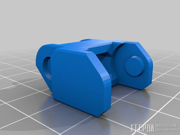 Printrbot Simple打印机的电缆收纳器 3D模型  图13