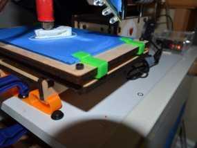 Printrbot Simple打印机的玻璃板夹 3D模型