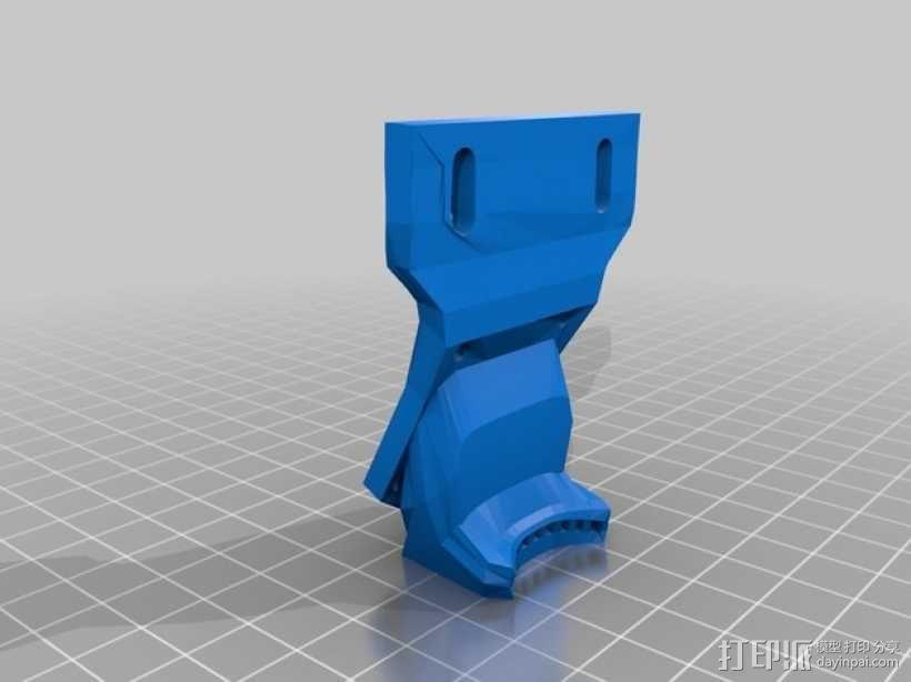 风扇支架 风扇导管 3D模型  图1