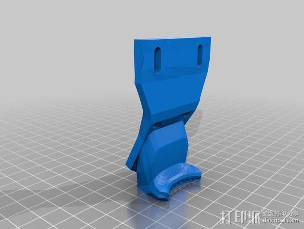 风扇支架 风扇导管 3D模型  图4