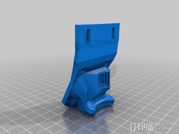 风扇支架 风扇导管 3D模型  图5