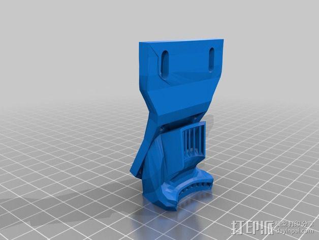 风扇支架 风扇导管 3D模型  图6