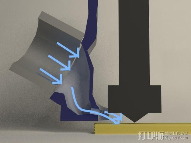 风扇支架 风扇导管 3D模型  图8