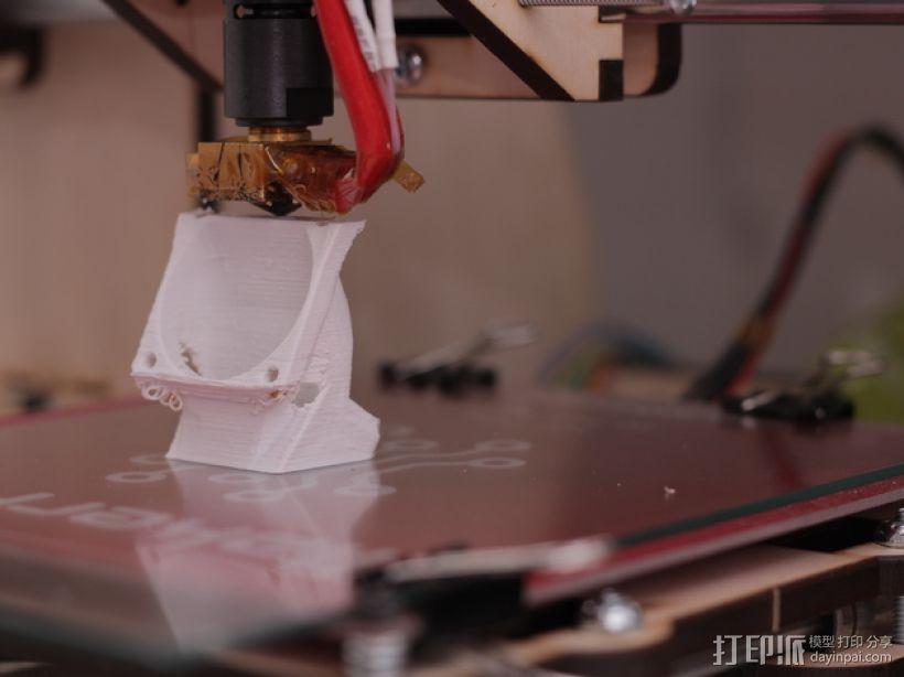 风扇支架 风扇导管 3D模型  图9