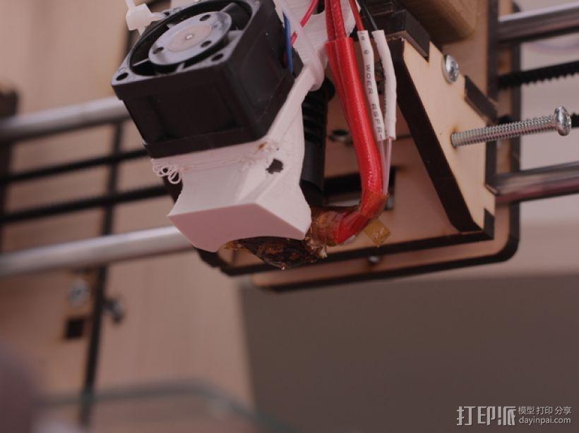 风扇支架 风扇导管 3D模型  图11