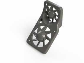 风扇罩 风扇固定架 3D模型