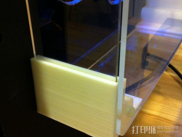 打印机侧面衬板 3D模型  图2