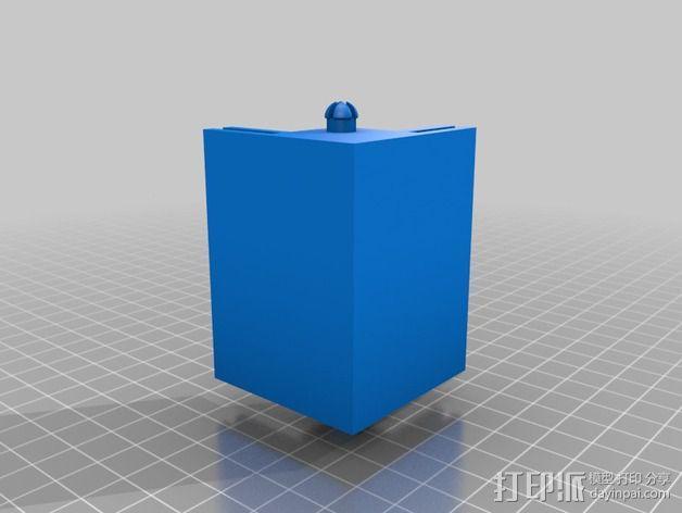 打印机侧面衬板 3D模型  图3