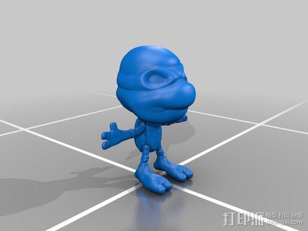 忍者神龟 3D模型  图2