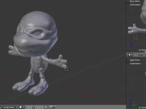 忍者神龟 3D模型
