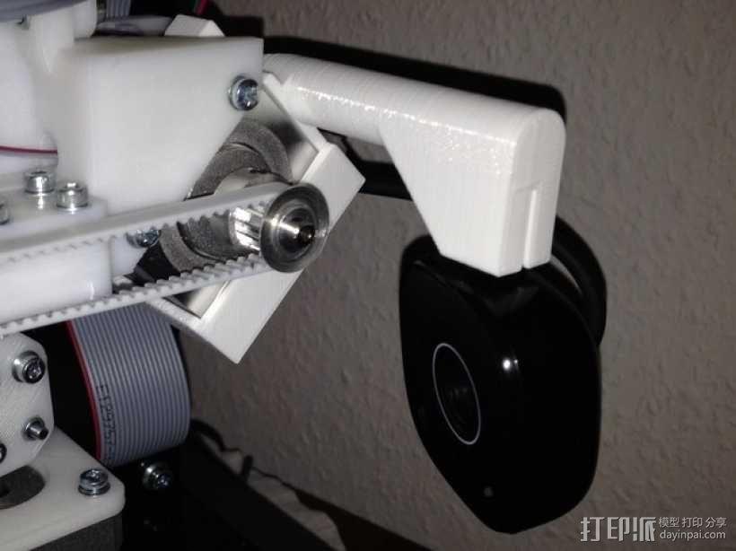 摄像头的安装支架 3D模型  图1