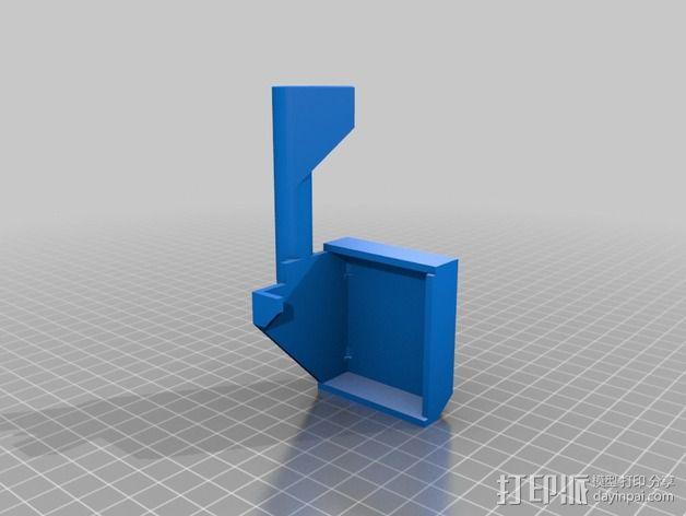 摄像头的安装支架 3D模型  图2